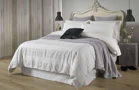 white faux fur duvet cover