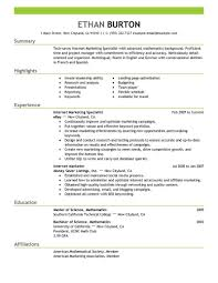 Best Online Marketer And Social Media Resume Example Livecareer
