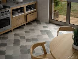Kitchens With Gray Floors 21 Arabesque Tile Ideas For Floor Wall And Backsplash