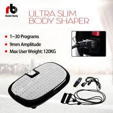 item 1 slim crazy fitness machine vibration plate home gym power mage exercise body slim crazy fitness machine vibration plate home gym power mage