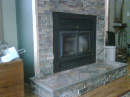 slate tile for a fireplace photo 2