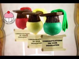 Make Easy Graduation Hat Cake Pops A Cupcake Addiction How To