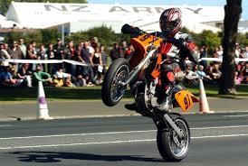 dunedin rider has super motard racing break drivesouth new