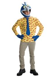 Men's Gonzo Costume - The Muppets Gonzo Adult Costume Now you can be a Jim  Hensen puppet character! Costume includes: Shirt, character headpiece and .