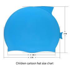 Swimming Cap Children Cartoon Fish Waterproof Protect Ears