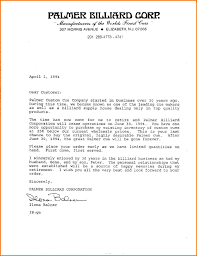9 Formal Business Letter From A Company Financial Statement Form