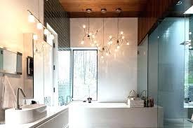 surprising bathroom light chandelier bathroom lighting chandelier contemporary playful with pendant light fixtures modern bathroom chandelier