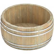 miniature wooden barrel table caddy 16 5Ø x 8cm