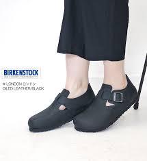 birkenstock ビルケンシュトック london ロンドン oiled leather black 166543