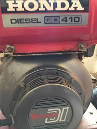 honda diesel generator. Honda Diesel Generator GD 410 R