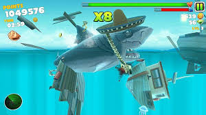 hungry shark evolution vs hungry shark world yeah all that awesome stuff up there you ll need to either grind for weeks or shell out some of your hard earned money again it s not ideal for a game
