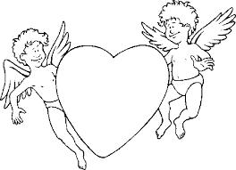 Man En Vrouw Verliefd Tijdens Valentijn Kleurplaat
