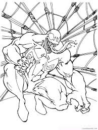 More 100 coloring pages from сoloring pages for boys category. Venom Coloring Pages Cartoons Venom 6 Printable 2020 6880 Coloring4free Coloring4free Com