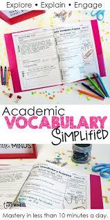 ideas about Vocabulary Activities on Pinterest   Vocabulary