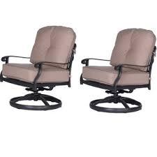 bean club patio chair with cushion set of 2