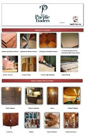 Kitchen Cabinet Laminate Veneer Veneering Brochure 2015 2