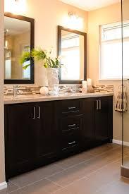 Best BATH Backsplash Ideas Images On Pinterest - Trim around bathroom mirror
