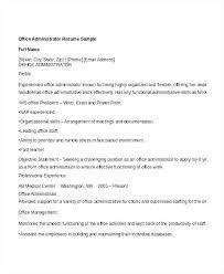 Front Desk Associate Sample Resume Awesome Resume Office Administrator Office Administrator Resume Sample
