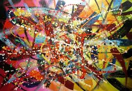 2018 high quality abstract art by jackson pollock oil painting on canvas 24x48 001 from oott 92 51 dhgate com