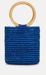 "MANA ""<b>La Playa</b>"" Raffia Bucket <b>Bag</b> - Shoulder Bags - 506199976 ..."