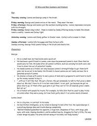 best mice and men summary ideas mice and men of mice and men teacher summary a quick notes of characters and themes from of