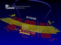 Broadway Seating Charts Broadway Shows All Tickets Inc