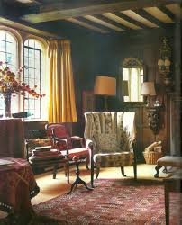 English Cottage Interior Design Photos Traditional English Cottage With Unexpected Pops Of Color