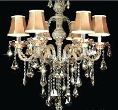 small crystal lamp shades little for chandeliers with chandelier and 9 light diy 16