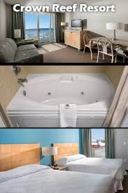 crown reef beach resort and waterpark jacuzzi suite