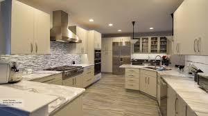 image modern kitchen lighting. Modern Kitchen With Light Grey Cabinets Image Lighting L