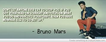 Bruno Mars Quotes Cool Quotes About Bruno 48 Quotes