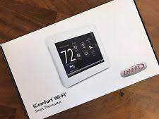 lennox touchscreen thermostat. new in box - lennox 10f81 icomfort wi-fi touchscreen thermostat ~latest version lennox u