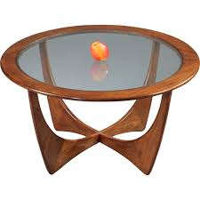 g plan astro coffee table round g plan astro coffee table in teak and glass victor