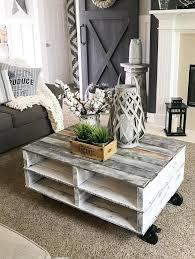 25 gorgeous diy coffee table ideas to
