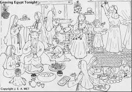Small Picture fantastic exodus coloring pages for kids with passover coloring