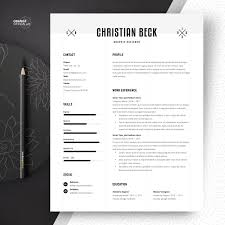 Graphic Design Resume Templates Designer Word Format Free Download