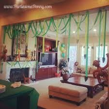 Jungle Theme Decorations Jungle Themed Baby Shower Decorations Baby Shower Ideas