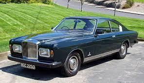 1968 Bentley Camargue Coupe Pinifarina | Bentley coupe, Bentley, Bentley car