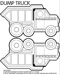 Small Picture Dump Truck Coloring Page Coloring Book