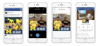 michigan football frame and the main interface