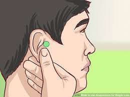 image led use acupressure for weight loss step 1