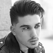 long hair short sides haircut for men
