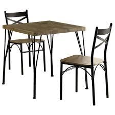 furniture of america dining sets. Furniture Of America Stasel 3-Piece Grey And Dark Bronze Dining Set Sets