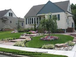 Small Picture Very curb appealing front yard design by Lisk Landscape Management