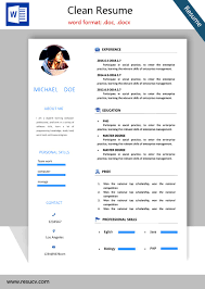 Word Formatted Resume Plain And Simple Resume Sample My Chelsea Club