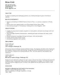 Graphic Design Resume Objectives Creative Arts And Graphic Design ...