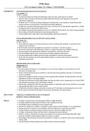 Bioinformatics Resume Sample Bioinformatics Scientist Resume Samples Velvet Jobs 25
