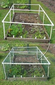 diy pvc pipe projects for garden 6 pvc gardening ideas