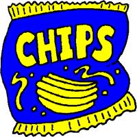 bag of potato chips clipart. Unique Clipart Bag Of Potato Chips Clipart Throughout