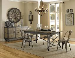 industrial dining room table and chairs. industrial style dining room tables contemporary with photo of table and chairs e